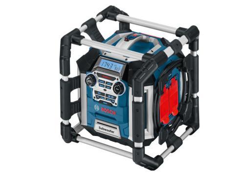 Bosch GML 50 Radio 50w Takes 14-18v Li-Ion Batteries