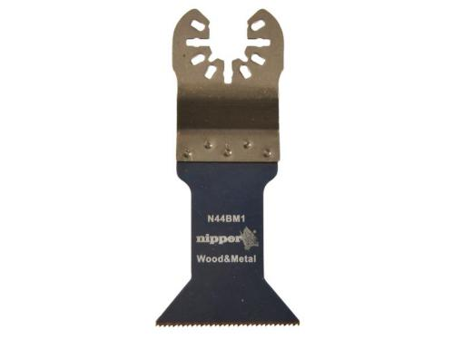 Nipper N44BM1 44mm Bi Metal Nitride Coated Multitool Blade