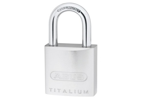 ABUS Mechanical 86TI/45 70mm Titalium Padlock Without Cylinder Long Shackle 4391