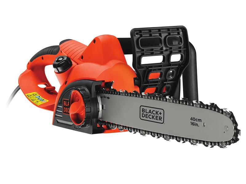 Black & Decker CS2040 Corded Chainsaw 40cm Bar 2000 Watt 240 Volt