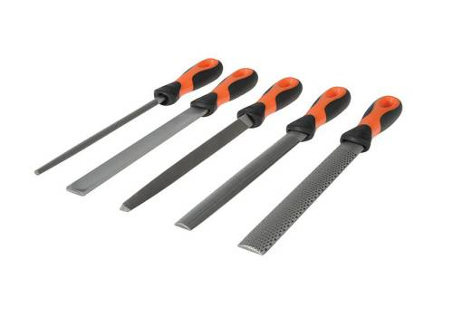 Bahco 1-477-08-2-2 File Set 5 Piece
