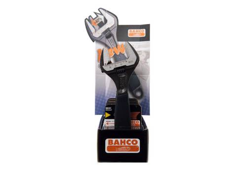Bahco 9031-5-Disp Display (5) Adjustable Wrenches