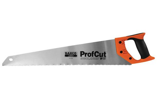 BAHCO ProfCut Insulation Saw with New Waved Toothing 22 in / 550mm