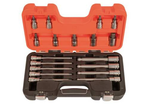 Bahco S18HEX 1/2in Drive Socket Set of 18 Metric S18HEX