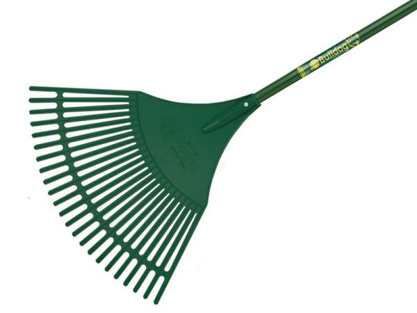 Bulldog 7128 Evergreen Plastic Leaf Rake