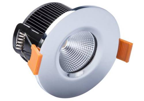 Byron LED Fire Rated Downlight 4.7W Chrome 240V 20.002.29