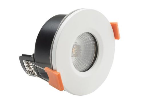 Byron LED Fire Rated Anti-Glare Downlight 3.8W White 240V 20.008.12