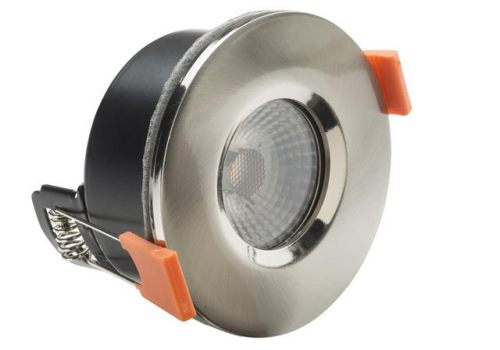 Byron LED Fire Rated Anti-Glare Downlight 3.8W Satin Nickel 240V 20.008.13