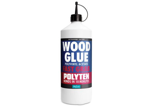 Polyvine Polyten Fast Grab Wood Adhesive 1 Litre