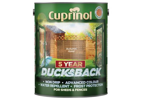 Cuprinol 5 Year Ducksback Wood  5 Litre Forest Green