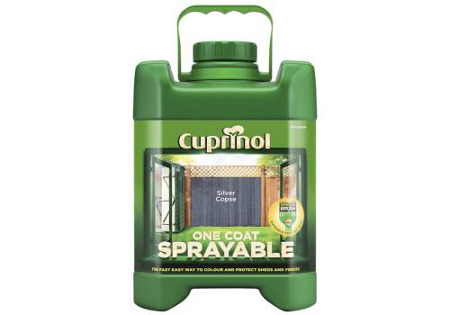Cuprinol Spray Fence Treatment Silver Copse 5 Litre 5244707