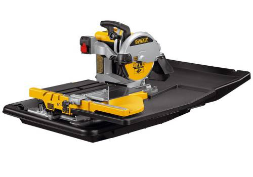 DeWalt D24000 Wet Tile Saw with Slide Table 110 Volt