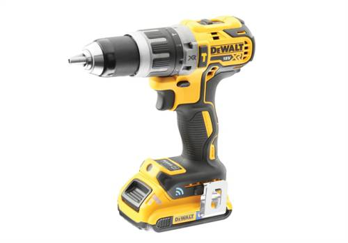 DEWALT DCD797D2B XR Brushless Hammer Drill Driver Tool Connect 18V 1 x 2.0Ah Li-ion DCD797D2B-GB