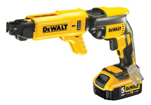 DEWALT DCF620P2K Brushless Collated Drywall Screwdriver 18 Volt 2 x 5.0Ah Li-Ion DCF620P2K-GB