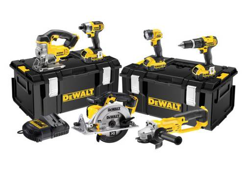 DeWalt DCK691M3 6 Piece Cordless Kit 2 Speed 18 Volt 3 x 4.0ah Li-Ion