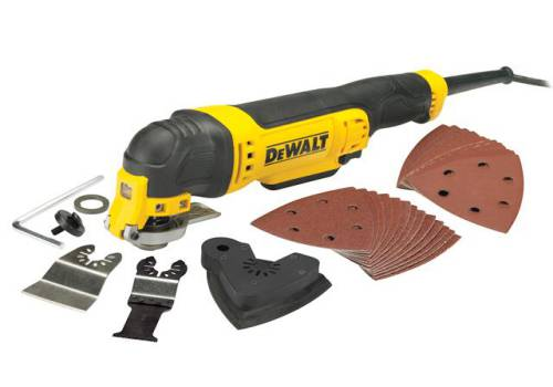 DEWALT DWE315B Corded Multi-Tool with Bag 300W 240V DWE315B-GB