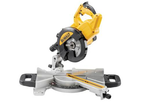 DEWALT DWS774 216mm XPS Slide Mitre Saw 110 Volt DWS774-LX