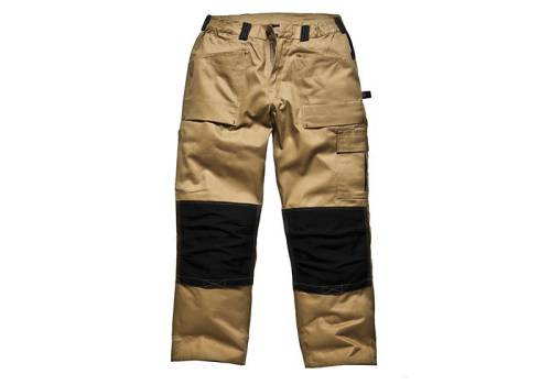 Dickies Grafter Trouser Khaki-black 36 Waist Tall