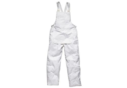 Dickies Painters Bib & Brace White Large