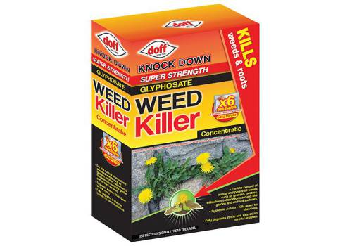 DOFFY006 Advanced Concentrated Weedkiller 6 Sachet