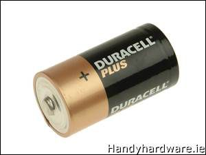 Duracell CK4P Alkaline Batteries Pack of 4 MN14004P