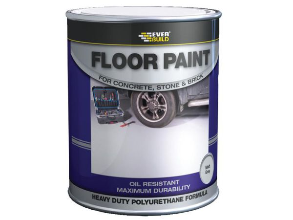 Everbuild Floor Paint Red 5 Litre