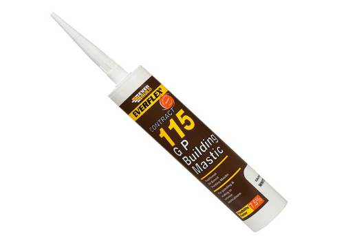 Everbuild General Purpose Building Mastic Grey 310ml 115