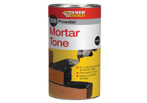 Everbuild Powder Mortar Tone Black 1kg 208