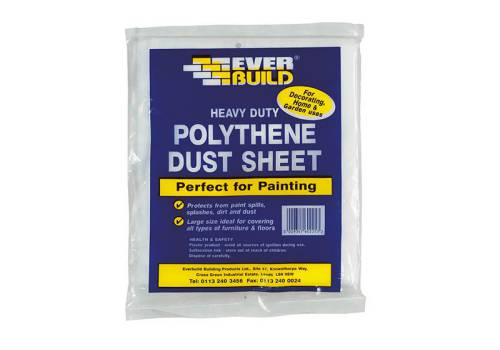 Everbuild Polythene Dust Sheet 12 x 9