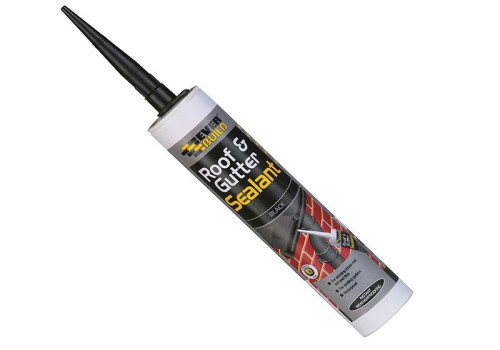 Everbuild Roof & Gutter Sealant Black 310ml