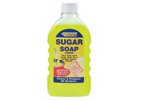 Everbuild Sugar Soap Liquid 500 ml