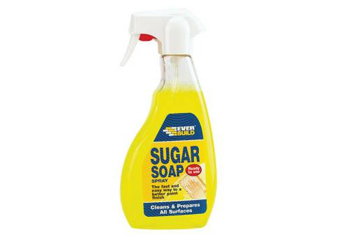 Everbuild Sugar Soap Trigger Spray 500ml