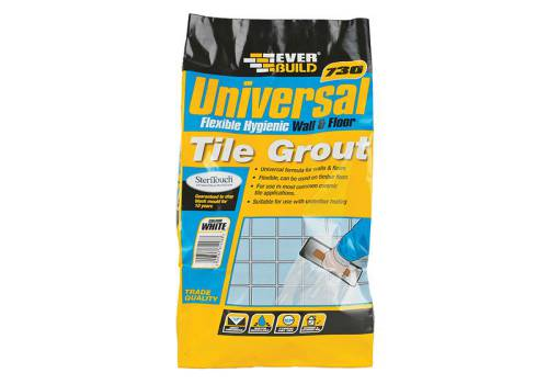 Everbuild Universal Flexible Grout Grey 5kg
