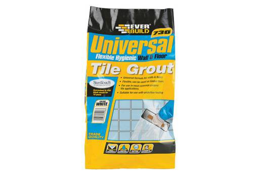 Everbuild Universal Flexible Grout White 5kg