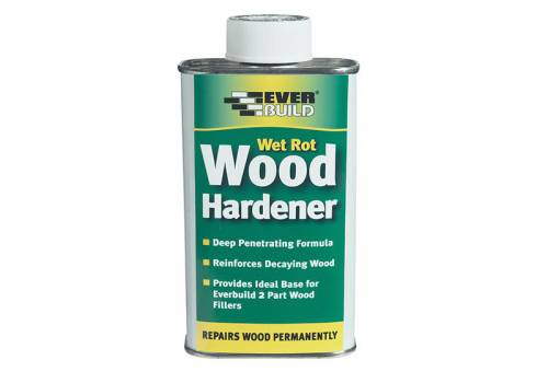 Everbuild Lumberjack Wet Rot Wood Hard 250ml