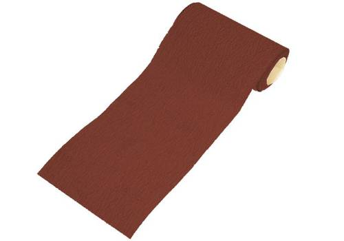 Faithfull Aluminium Oxide Paper Roll Red 1M Hook & Loop Fine