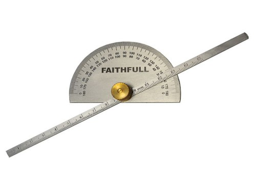 Faithfull Depth Gauge with Protractor