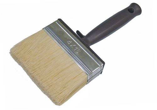 Faithfull Woodcare Shed And Fence Brush 120 X 40mm