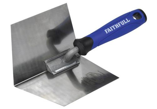 Faithfull Prestige Internal Corner Trowel 125 x 100mm (5 x 4in) FAI011