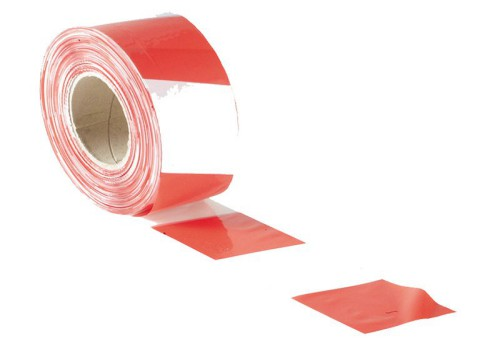 GEKO 500M Red And White Barrier Tape