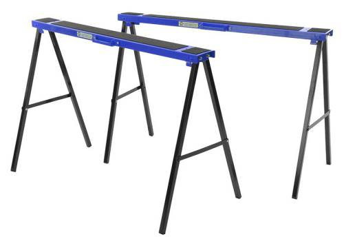 Faithfull Steel Trestles(Set 2) Height: 31in x  Length 39in  Weight 4in