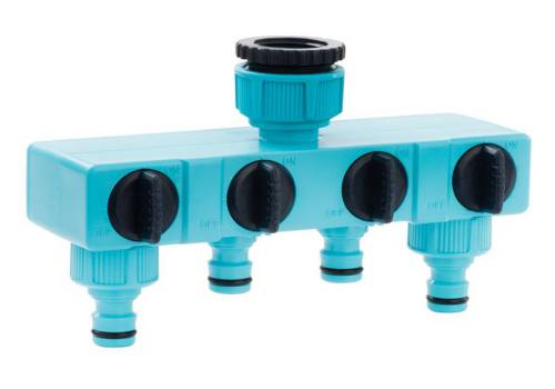 Flopro Flopro Four Way Tap Connector 12.5mm (1/2in) 70300405