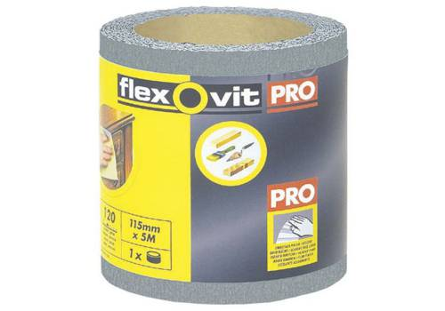 Flexovit High Performance Sanding Roll 115mm X 5m 320g
