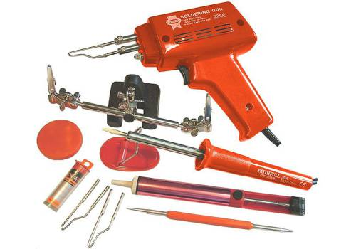 Faithfull Power Plus SGKP Soldering Gun And Iron Kit