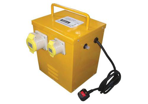 Faithfull Power Plus Heater Transformer 3KVA Continuous Rate