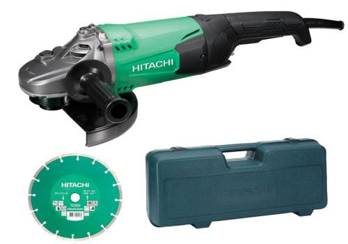 Hitachi G23ST Grinder With Diamond Blade & Case 2000 Watt 240 Volt