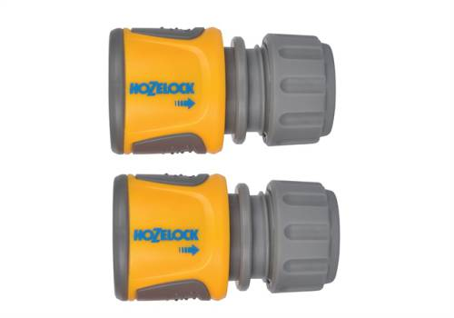 Hozelock 2070 Soft Touch Hose End Connector, Pack of 2 20706025