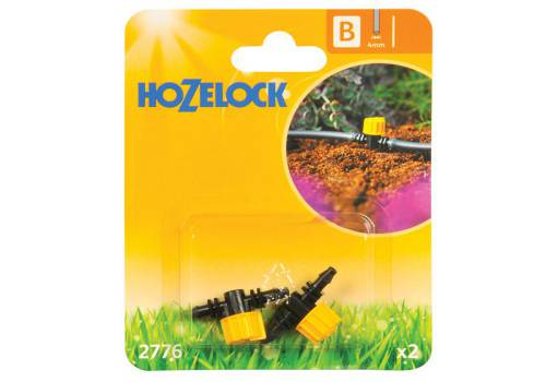 Hozelock Flow Control Valve 4mm (2 Pack)
