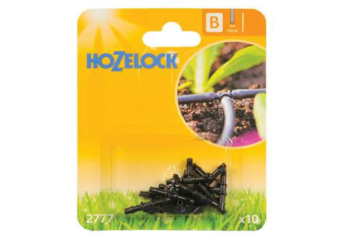Hozelock T Piece 4mm (10 Pack)