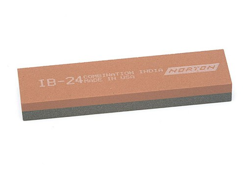 India IB24 Bench Stone 100mm x 25mm x 12mm - Combination